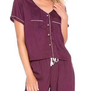 Other - Splendid pajama crop top pajama set sm